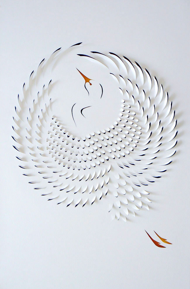 Paper Art by Lisa Rodden.