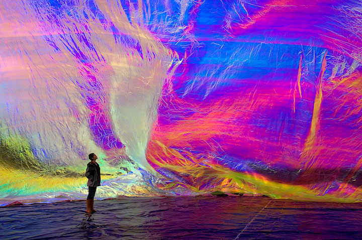 """Poetic Cosmos of the Breath"" by Tomás Saraceno."
