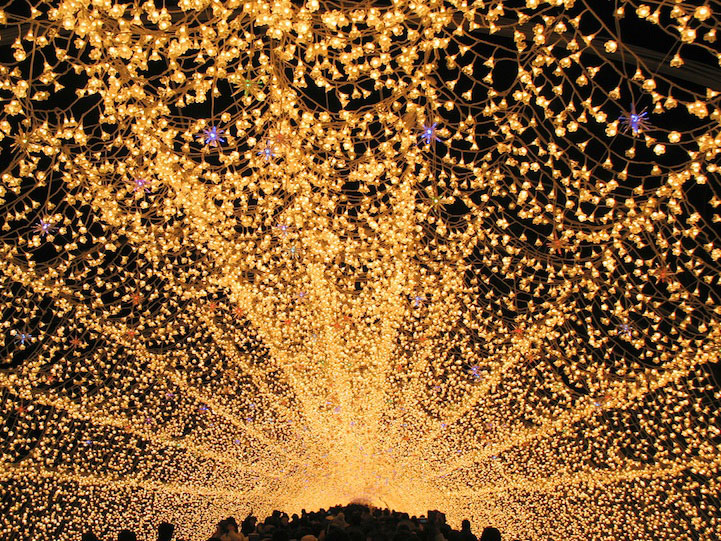 Winter Illuminations at Nabana no Sato, Japan… And it's time for a little break!