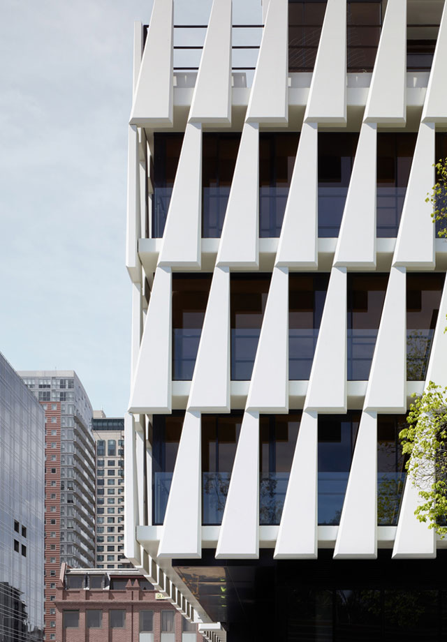 33 MacKenzie Street Residential Tower, Melbourne by Elenberg Frazer // via Yellowtrace.