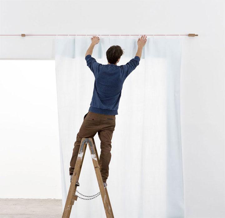 Ready Made Curtain // Ronan & Erwan Bouroullec for Kvadrat.