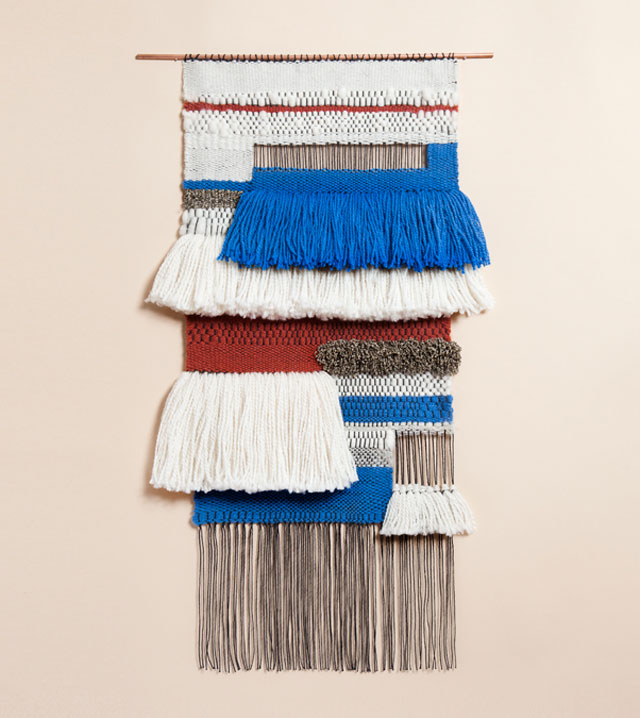 Weavings by Mimi Jung of Brook&Lyn.