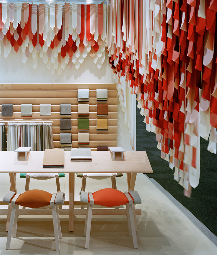 The Picnic Installation at Stockholm Design Week by Raw Edges for Kvadrat | Yellowtrace.