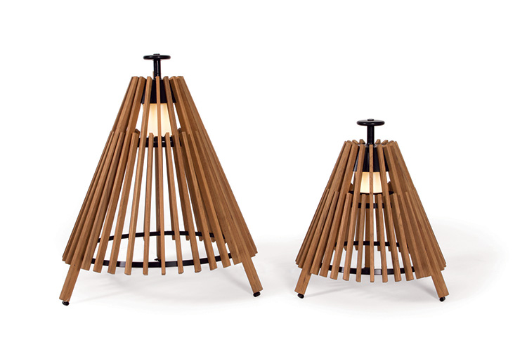 Tipi lamp by Atelje Lyktan for Skargaarden | Yellowtrace.