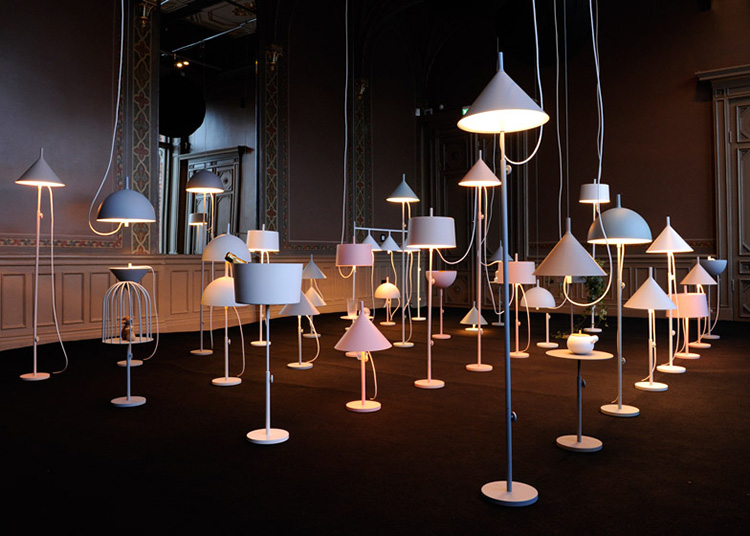 Nendo. Illuminated by Wästberg at Stockholm Design Week 2013 | Yellowtrace.