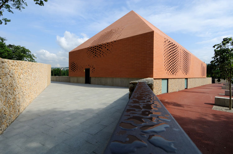 Pope John Paul II Hall by Randic Turato // via yellowtrace
