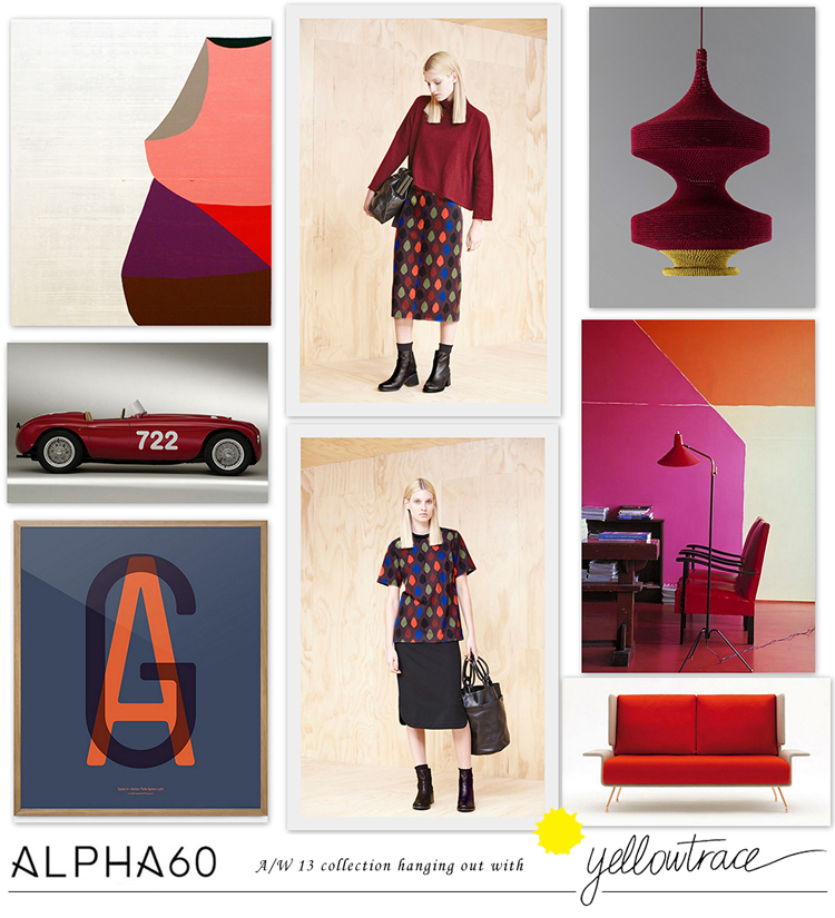 Hanging Out in Alpha60 Autumn/Winter 2013 Collection.
