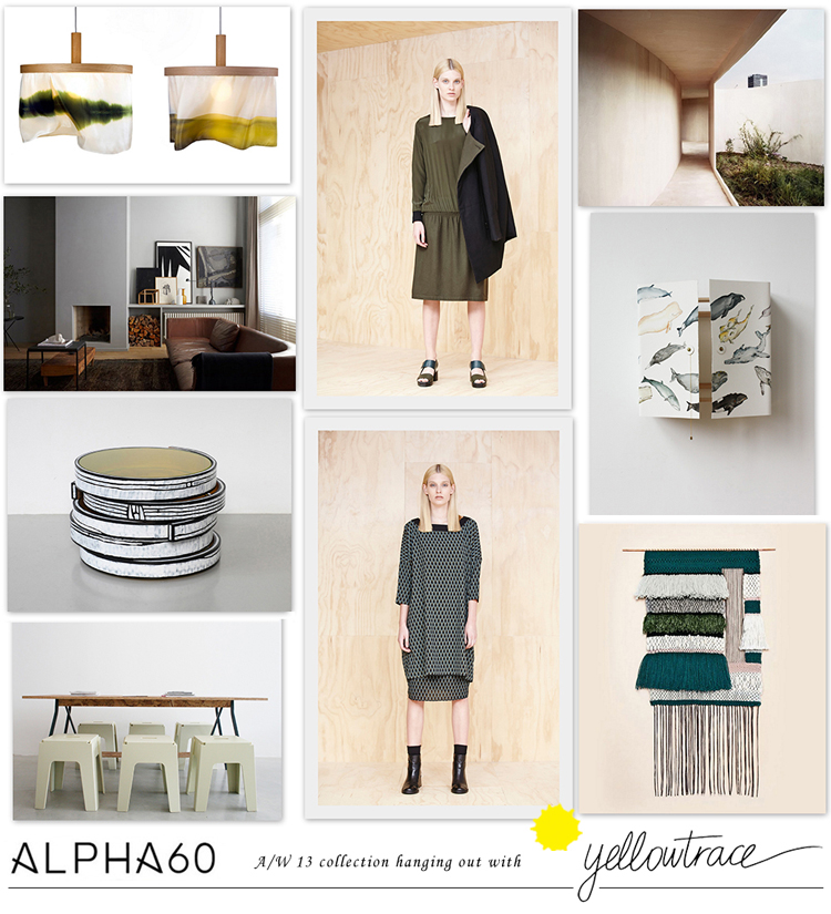 Alpha60 A/W13 Collection hanging out with Yellowtrace // Look 06.