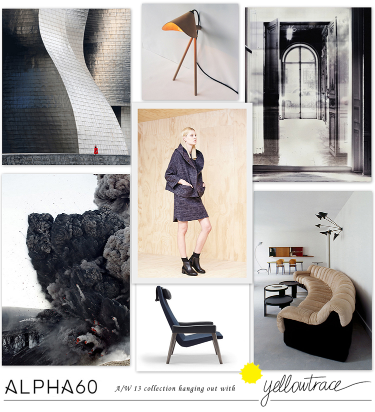 Alpha60 A/W13 Collection hanging out with Yellowtrace // Look 07.