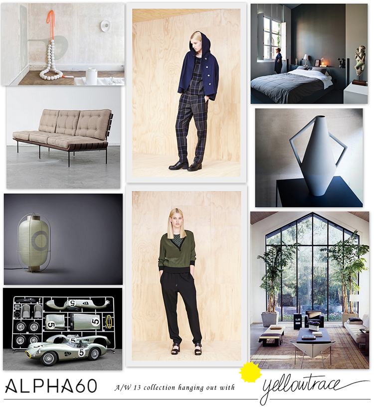 Alpha60 A/W13 Collection hanging out with Yellowtrace // Look 08.