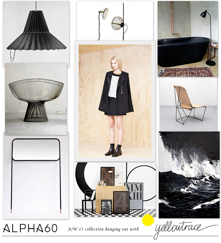 Alpha60 A/W13 Collection hanging out with Yellowtrace // Look 09.