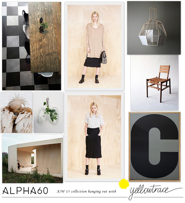 Alpha60 A/W13 Collection hanging out with Yellowtrace // Look 10.
