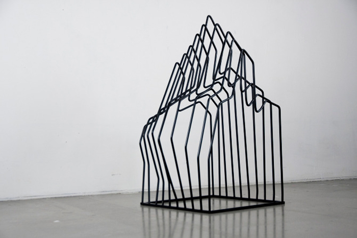 Berg clothes rack by Arash Eskafi | Yellowtrace.