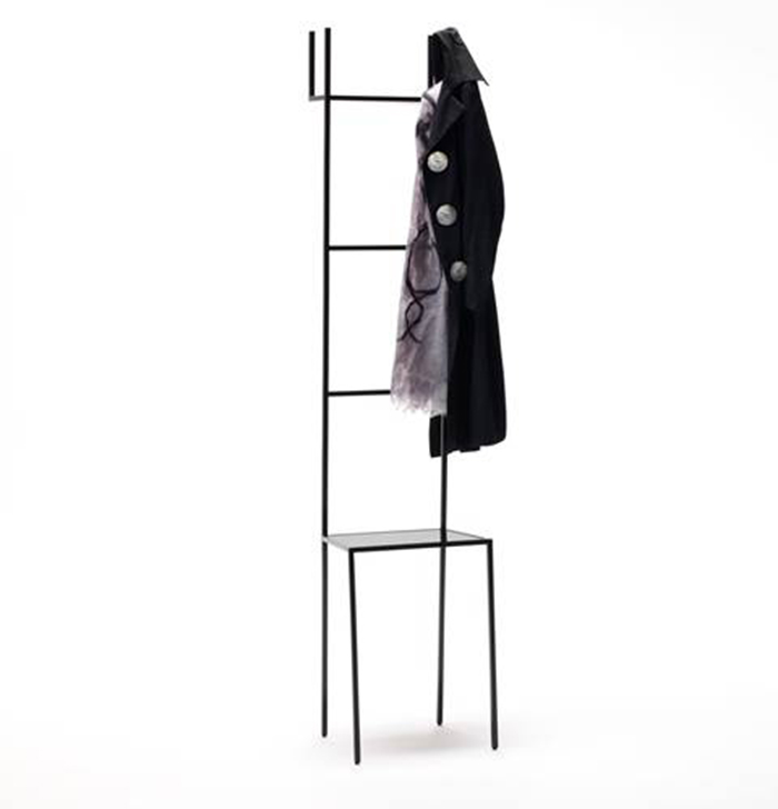 Mate clothes valet designed by a+b for Living Divani | Yellowtrace.