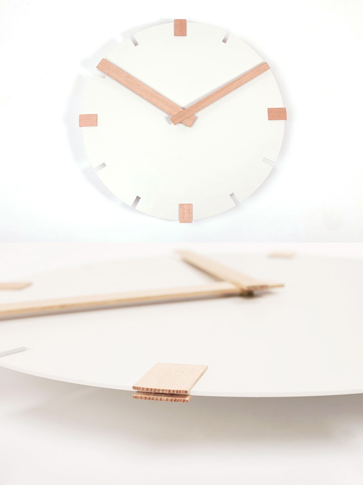 NW6 Clock by Another Small Studio at Salone Satellite 2013 | Yellowtrace.