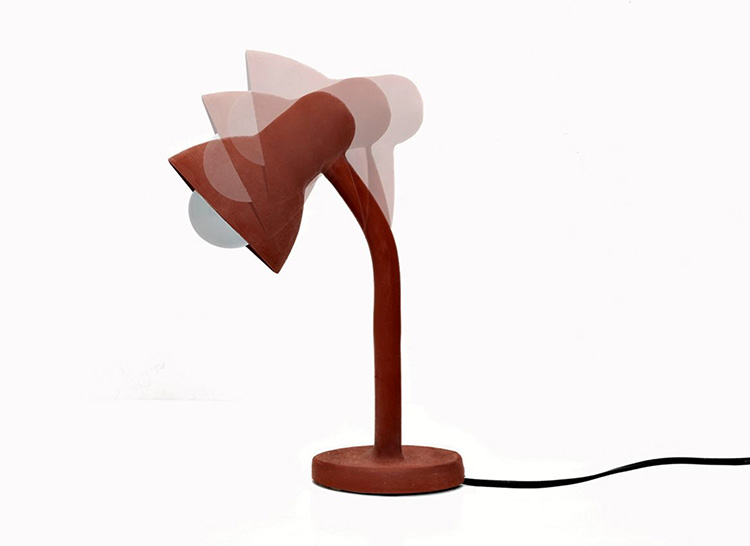 Rubber Lamp by Thomas Schnur at Salone Satellite 20130 | Yellowtrace.