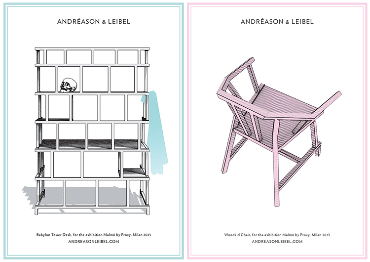 Andréason & Leibel Brochures for Ventura Lambrate 2013 | Yellowtrace.