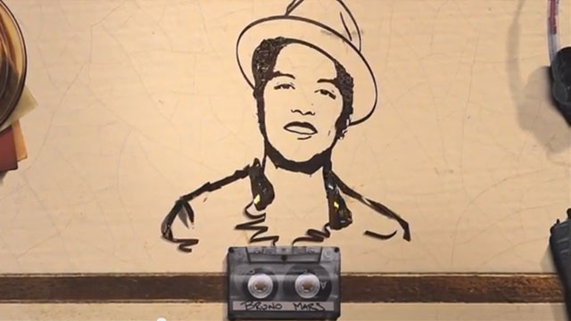 "Cassette Tape Animation | ""Just The Way You Are"" by Bruno Mars [TV]."