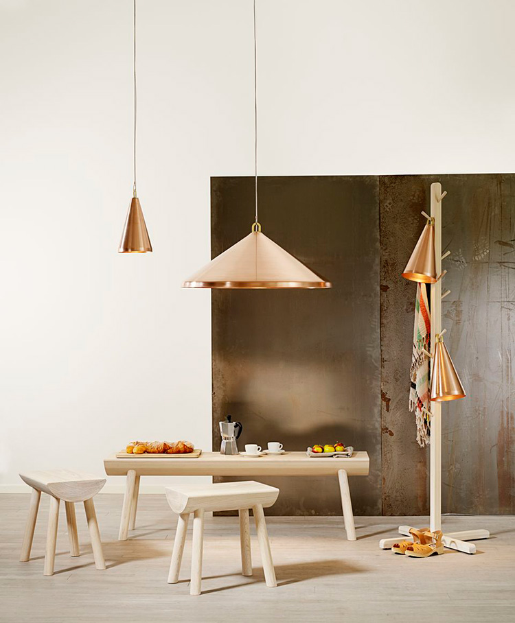 Ash & Copper by Ola Wilhlborg at Ventura Lambrate 2013 | Yellowtrace.