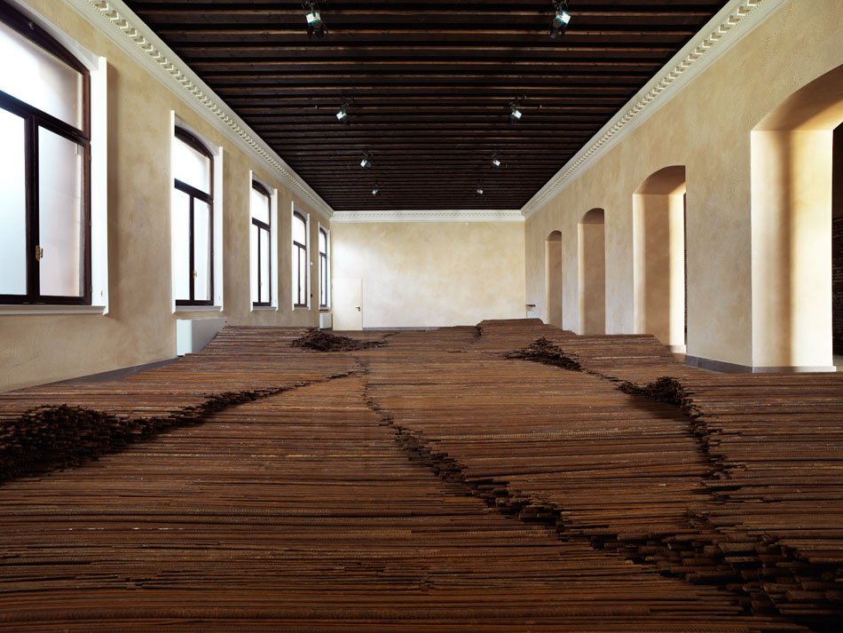 Ai Weiwei 'Straight' at Venice Biennale 2013 | Yellowtrace.