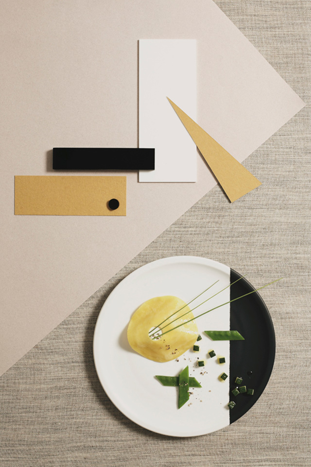 Bauhaus Food Photography by Nicky&Max | Yellowtrace.