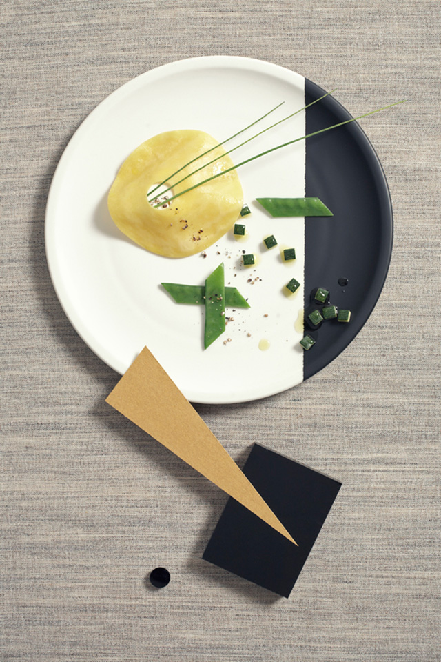 Design Free Thursday // Bauhaus Food Photography by Nicky&Max.