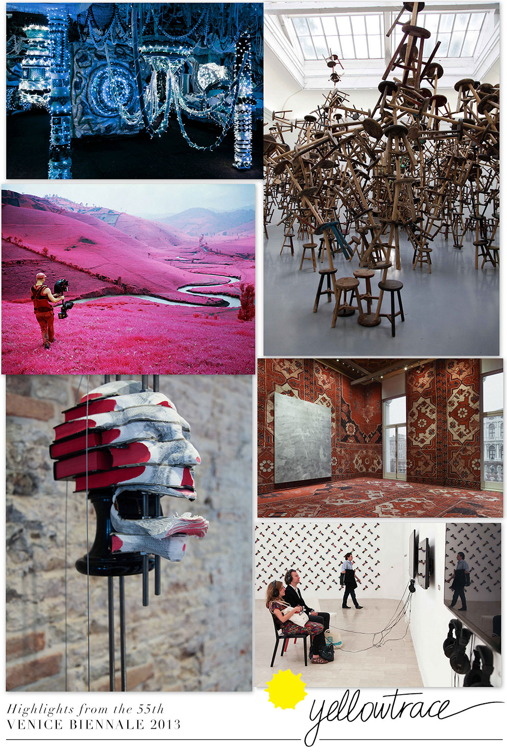 Highlights from the 55th Venice Biennale 2013 | Curated by Yellowtrace.