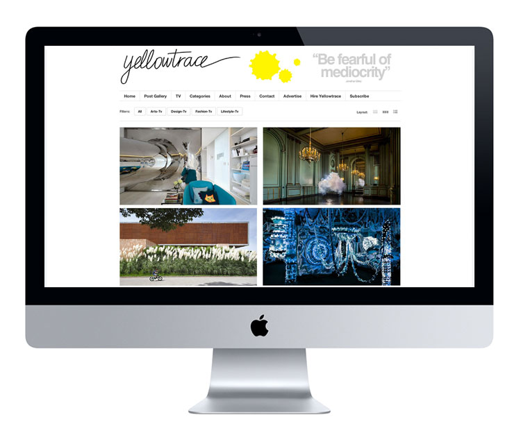 Introducing // Yellowtrace TV.