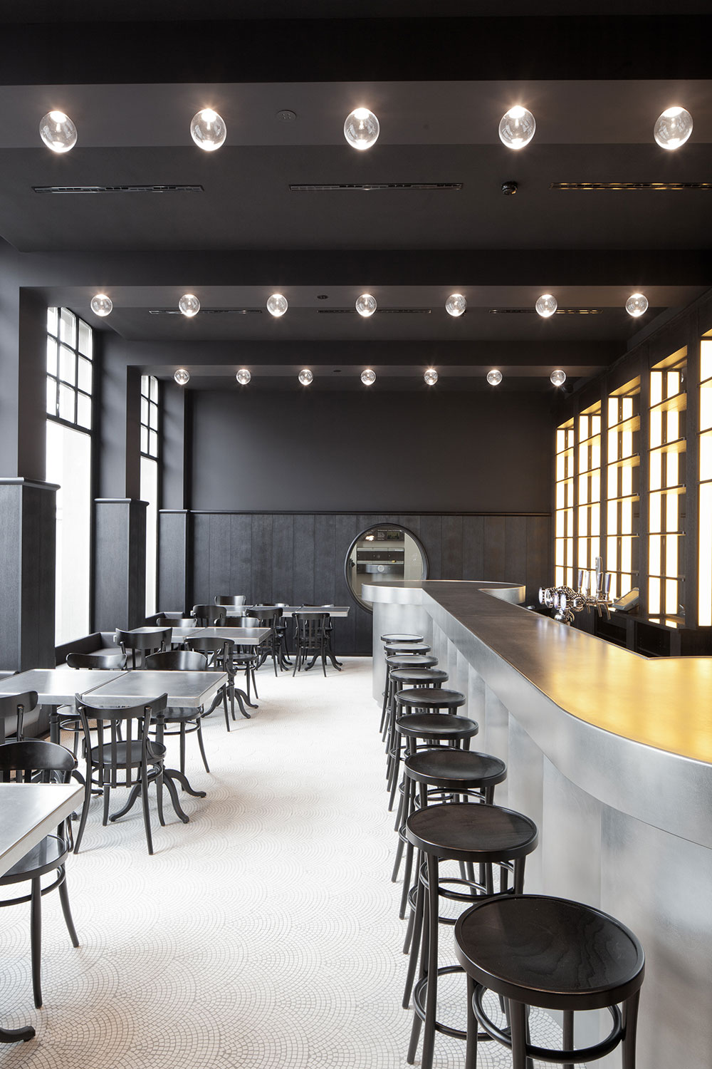 Volkshaus Basel Bar and Brasserie by Herzog & de Meuron // Switzerland.
