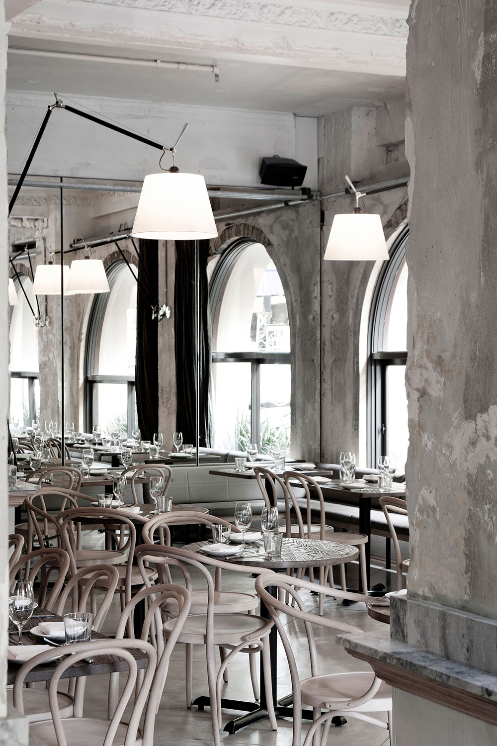 The Apollo Restaurant, Sydney by George Livissianis | Yellowtrace.