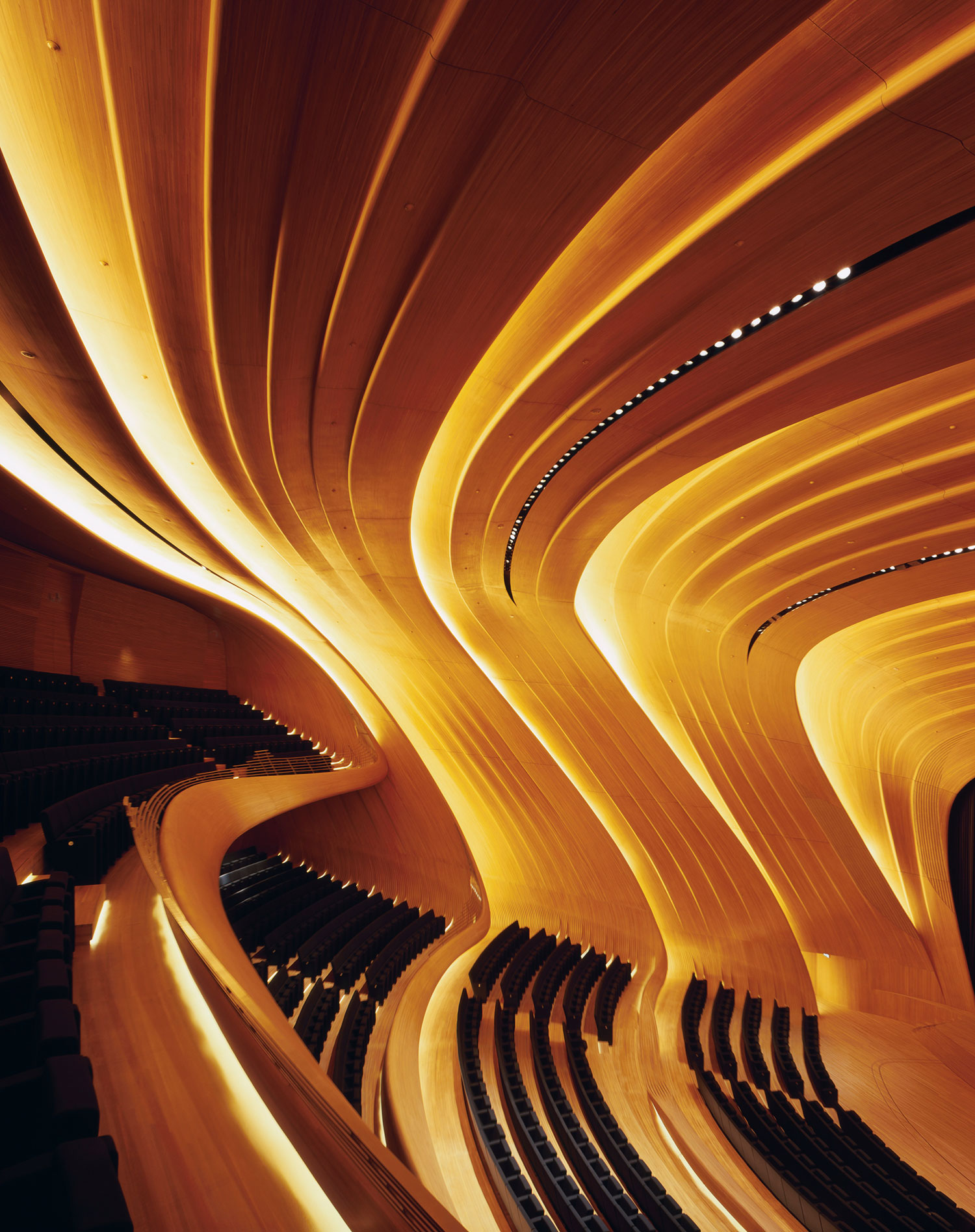 Heydar Aliyev Centre, Azerbaijan by Zaha Hadid Architects | Yellowtrace.
