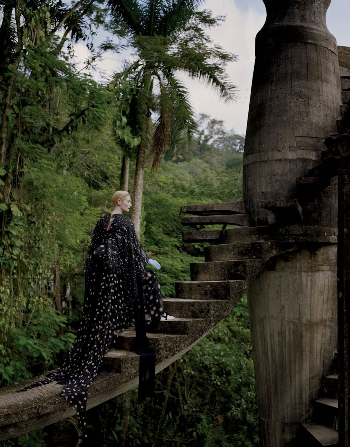 Stranger Than Paradise // Tilda Swinton and Tim Walker for W Magazine.