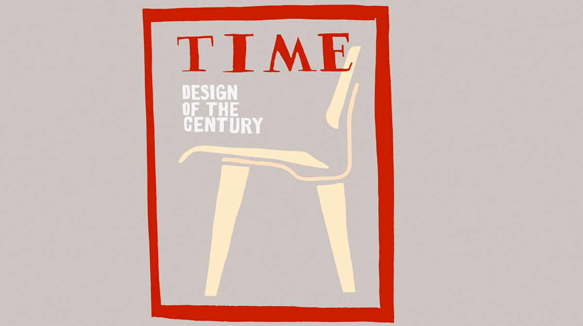 Eames Chair on Time Cover | Yellowtrace.