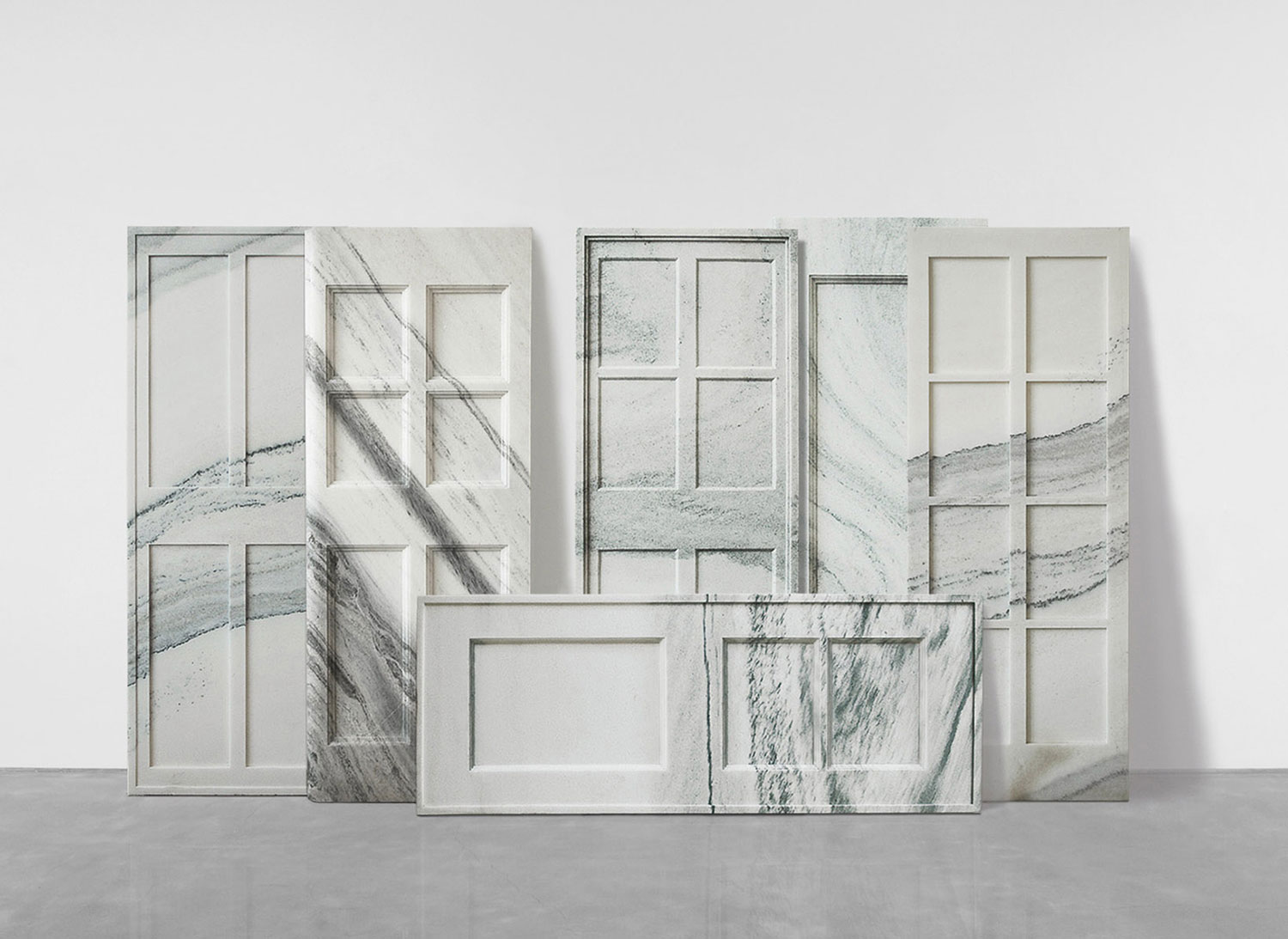 Marble Doors by Ai Weiwei | Yellowtrace.