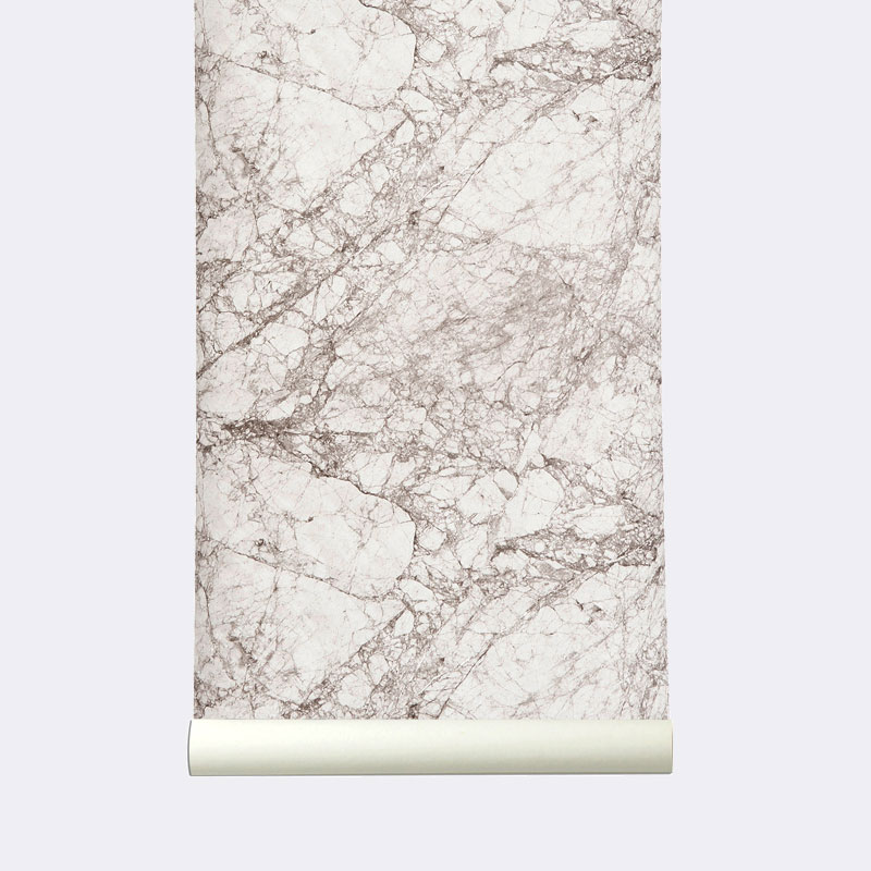 Marble Wallpaper from Ferm Living | Yellowtrace.
