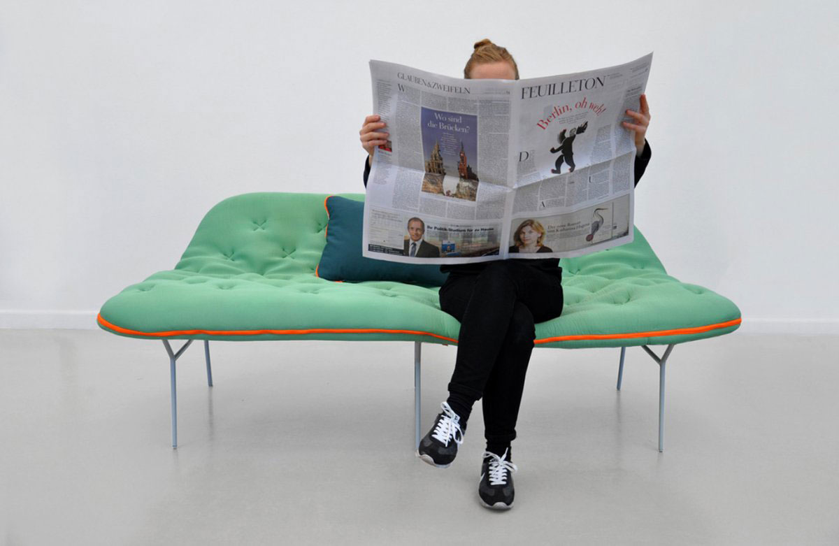 Stephanie Hornig, Camp Sofa | Yellowtrace.