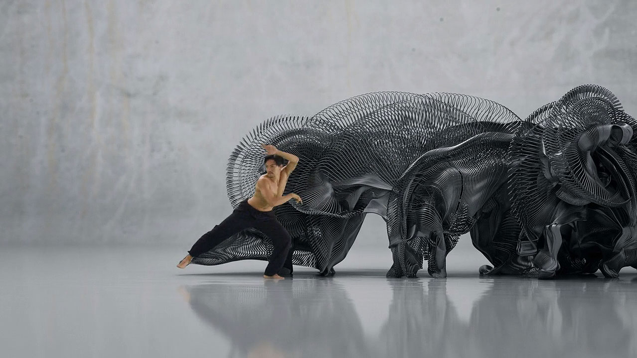 Human Movement Sculpture | Yellowtrace