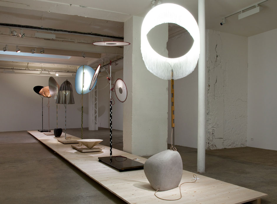 Mitate Lighting Collection, exhibition view | Yellowtrace.