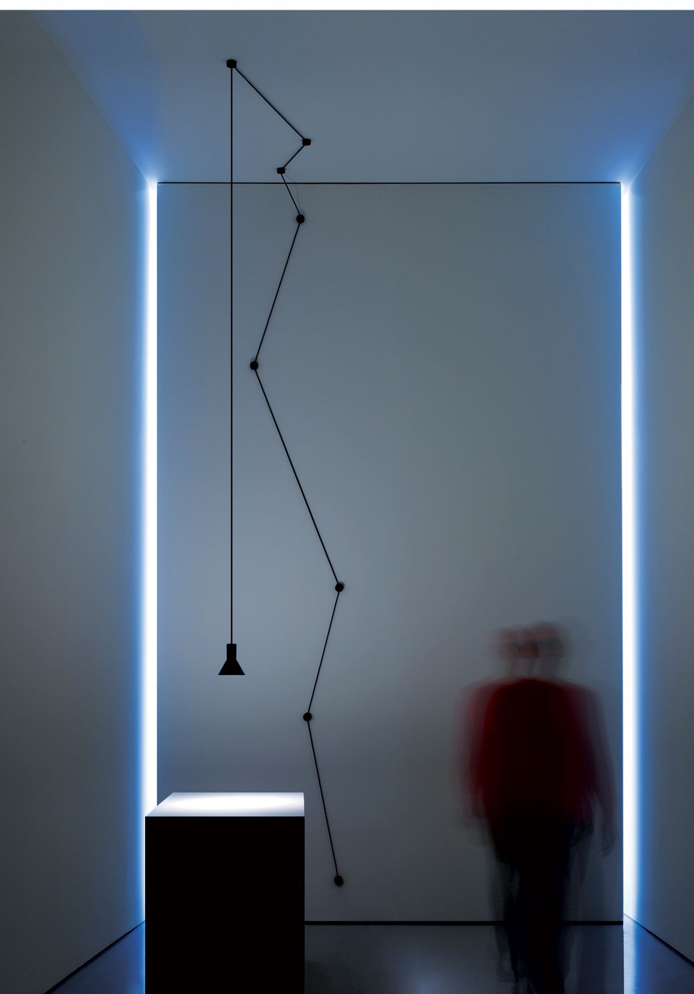 N-EURO Suspension Lamp by Davide Groppi & Beppe Merlano.